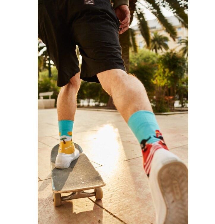 de2d377e67c Lifestyle foto Veselé ponožky Ostrov pirátů