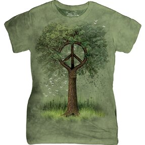 Roots Of Peace Retro T Shirt